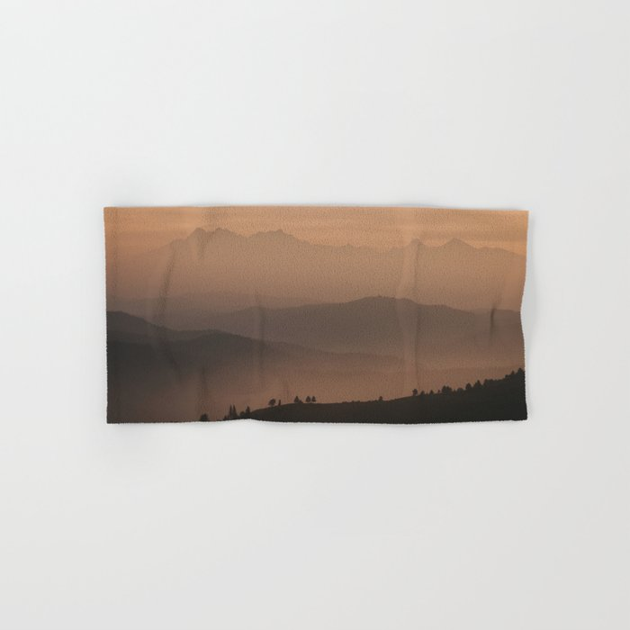 Mountain Love - Landscape and Nature Photography Hand & Bath Towel