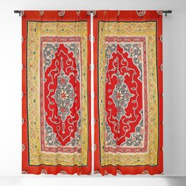 Rasht Gilan North Persian Embroidery Print Blackout Curtain
