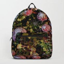 Botanical Succulents Backpack