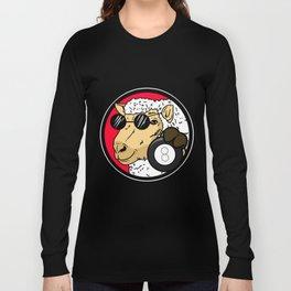 Billiard Cue Game Sport Funny Humor Gift Long Sleeve T-shirt