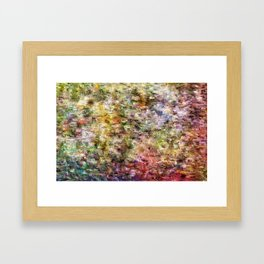 Soothing Heather Framed Art Print