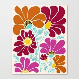Autumn Floral Canvas Print