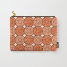 Red & Orange Circles Carry-All Pouch