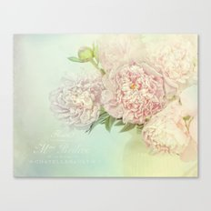 peony dream Canvas Print