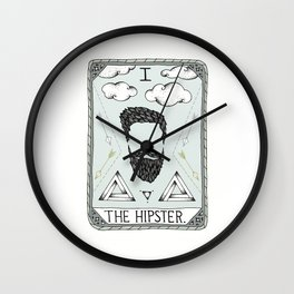 The Hipster Wall Clock