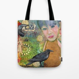Hanging with the Crows Tote Bag