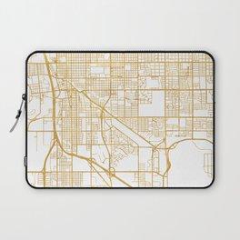 TUCSON ARIZONA CITY STREET MAP ART Laptop Sleeve