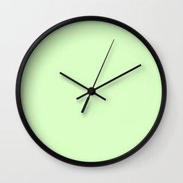 Simply Green Tea Green Wall Clock
