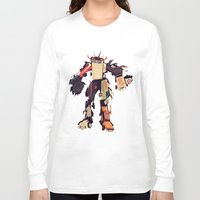 car Long Sleeve T-shirts featuring famous car monster by Yetiland