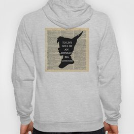 Peter Pan Over Vintage Dictionary Page - To Live Hoody