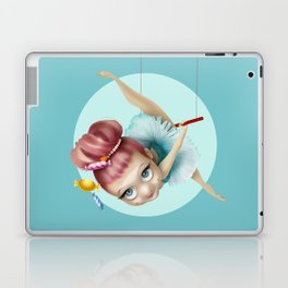 The trapezist Laptop & iPad Skin