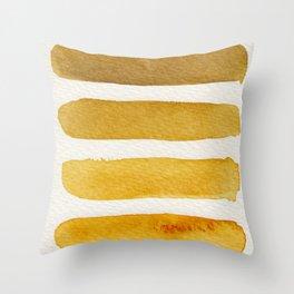 Autumn Stripe Throw Pillow