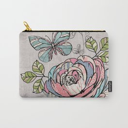 Paper Flowers #2 Carry-All Pouch