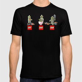 EAT SHIT RUN CYCLOPS LEGO T-shirt