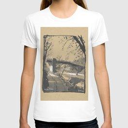 The Iron Bridge, Shropshire, England T-shirt