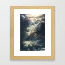 Cloudio di porno II Framed Art Print