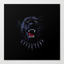 Wakanda Panther Canvas Print