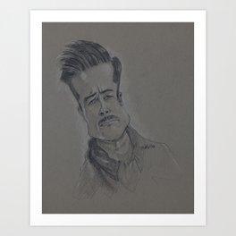 Lt. Aldo Raine Art Print