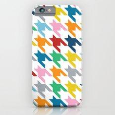 Rainbow Dogtooth iPhone 6s Slim Case