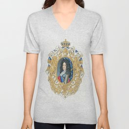 King Louis XIV Unisex V-Neck