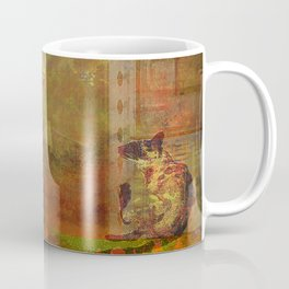 The loves of the cat and the crow of London Coffee Mug