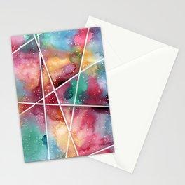 masking experiment 1 Stationery Cards