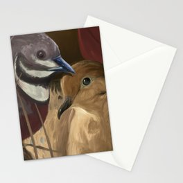 Quail and Mourning Dove Stationery Cards