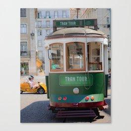Tram Tour Canvas Print