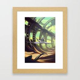 The Derelict Framed Art Print