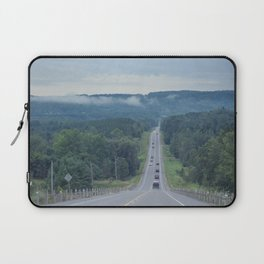 Let's take the scenic route Laptop Sleeve