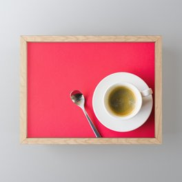 Cappuccino Framed Mini Art Print