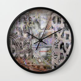 Fractured Whimsy Wall Clock