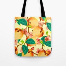 Summer fruit pattern #society6 Tote Bag