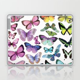 Butterfly Rainbow Laptop & iPad Skin
