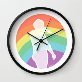 Rainbow Louis Wall Clock