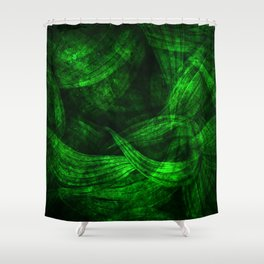 Fresh green nature Shower Curtain