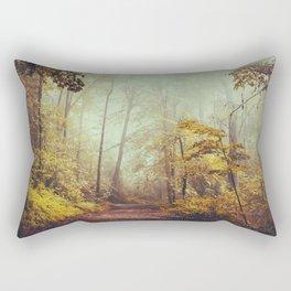 Silent Forest Rectangular Pillow