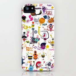 Music world iPhone Case
