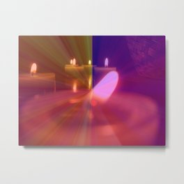 Old Flame Can't Hold A Candle To You Metal Print