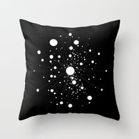battlestar galactica Throw Pillows featuring GALACTICA by THE USUAL DESIGNERS