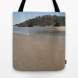 Walking Towards Monkey Island Palolem Tote Bag