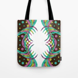 Abstract Spring Bloom Tote Bag