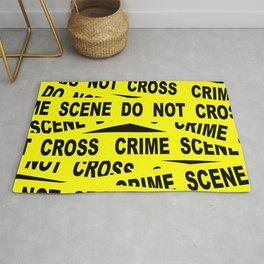 Crime Scene Tape Rug