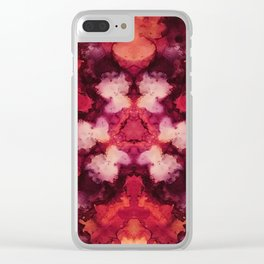Changing Leaves Clear iPhone Case