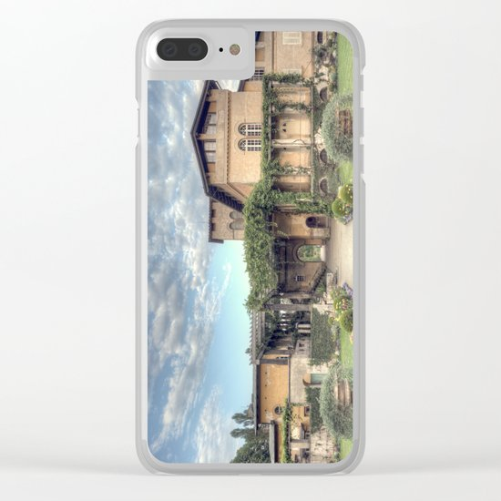 Roman Baths Clear iPhone Case
