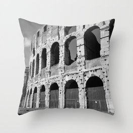 Colosseum | Rome, Italy Throw Pillow
