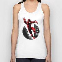 daredevil Tank Tops featuring Daredevil by Atom Manhattan