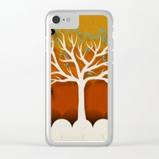 Fruits Talk White Clear iPhone Case