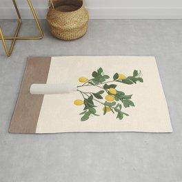 Lemon Branches II Rug