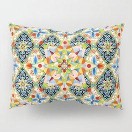 Elizabethan Blossom Starburst Pillow Sham